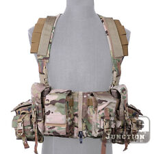 Emerson LBT-1961A-R Load Bearing Chest Rig Hunting Vest + M4 M16 Mag Radio Pouch