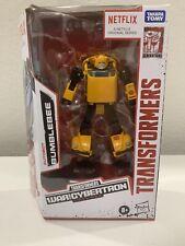 Transformers WFC War for Cybertron Netflix Bumblebee
