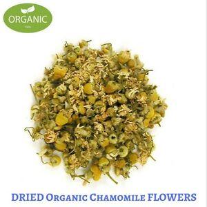 BULK 200 Gram Dried Organic CHAMOMILE FLOWER - Matricaria recutita - Herbal Tea