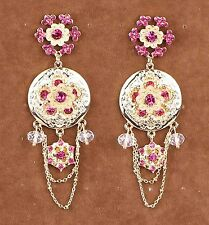Hot Charm Fashion Jewelry Crystal Rhinestone Ear Drop Dangle Stud Earrings 777