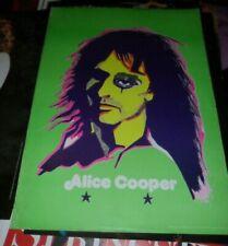 Alice Cooper Concert Tour Pop Art Flower Power Dutch © Promo Poster 70s Vintage