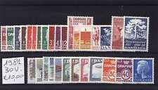 Danimarca/Denmark 1981 Annata completa 30 valori MNH