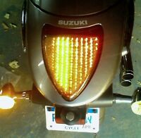 Suzuki M109R Integrated LED Tail / Brake Light M109 Boulevard VZR1800 - Smoked