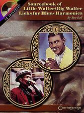 Little Walter Big Walter Blues Harmonica Music Book CD