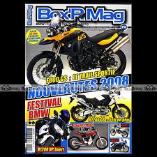 BOX'R MAG N°19 BMW 500 RENNSPORT R75 BMW K1200 R1200 R GS HP2 F800 F650 2007