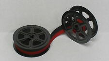 WOODSTOCK TYPEWRITER RIBBON ON TWIN METAL SPOOLS (New & Very Hard-to-Find!)