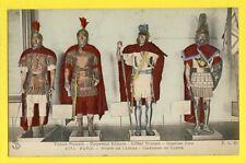 CPA PARIS Musée Armée ARMURES COSTUMES de GUERRE ROMAIN et GREC Armor of War