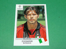 N°302 BOBAN MILAN AC ITALIA PANINI FOOTBALL CHAMPIONS LEAGUE 1999-2000