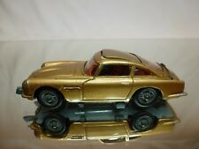 CORGI TOYS 261 ASTON MARTIN DB5 - JAMES BOND 007 - GOLD 1:43 - GOOD CONDITION