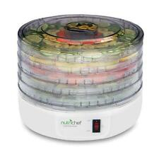 Nutrichef PKFD12 Electric Countertop Food Jerky Dehydrator Preserver Maker
