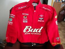 DALE EARNHARDT JR. CHASE AUTHENTICS RED BUD RACING JACKET (NWOT) ADULT (XL)