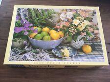 Jigsaw puzzle 1000 pieces, Still life, lemons, fruit and flowers, Jr puzzles