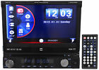 """Dual XDVD1170 7"""" 1-Din Car Stereo DVD Player AM/FM Receiver iPod/iPhone, USB, SD"""
