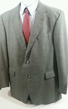JOS A BANK Men's 44L Gray Houndstooth 2-Button Alpaca Blend Blazer Sports Coat