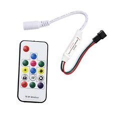 SP103E Mini-RF Wireless Remote Controller for LED Strip WS2811 WS2812B DC12V