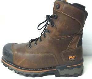 Timberland Pro Boondock 89628 CT WP 600g Insulated BOOTS Brown men's size 14.✨