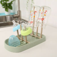 KQ_ Bottle Drying Rack Baby Infant Dryer Clean Feeding Drainer Draining Holder G