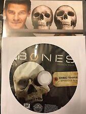Bones - Season 4, Disc 3 REPLACEMENT DISC (not full season)