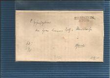 Hannover / HILDESHEIM / APR 17, L2 1845 auf Kabinett-Brief m. gedr. Inhalt