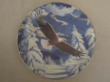 BALD EAGLE collector plate IMPRESSIONS OF FREEDOM Diana Casey CAMOUFLAGE