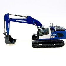 """WSI CONRAD NZG 957.02  LIEBHERR R 936 C Crawler Excavator """"SCHNORPFEIL"""" 1:50 NEW"""