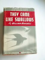 They Came Like Swallows | William Maxwell | Vintage HC, DJ | First Edition