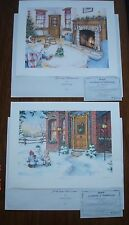 Laura Berry Prints for Labatt  - A Winter Welcome & Specials Moments - Signed