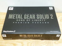 PS2 Metal Gear Solid 2 Sons of Liberty Premium Package
