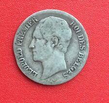 Belgique - Léopold Ier - Rare et Jolie monnaie de 20 Centimes 1853