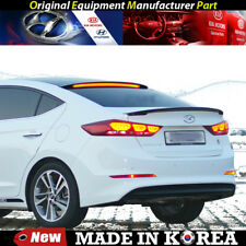OEM Roof Glass Wing Lip Spoiler - Black with LED for 2016-2018 Hyundai Elantra