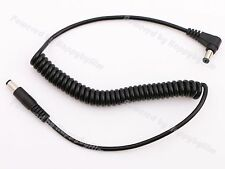 5.5/2.5mm DC Male to Male Plug Coiled Power Cable Angled& Straight Plug for BMCC