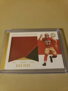 2019 Panini Encased Nick Bosa Substantial RC Swatches #d /25 49ers!