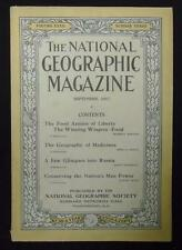National Geographic September 1917 Food Armies of Liberty, Geography of Midicine