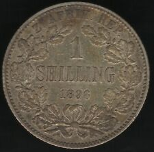 More details for 1896 south africa silver 1 shilling coin | world coins | pennies2pounds