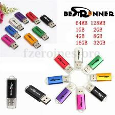 BESTRUNNER 2GB/64/128/256/512MB USB Flash Drive Memory Stick Business Gift LOT