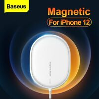 Baseus Magnetic Wireless Charger 15W PD Fast Charging Pad For iPhone 12 Pro Max