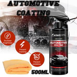 500ml Shine Armor Ceramic Spray Car Polish Spray Top Coat Quick Nano Coating