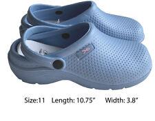 Medical Nursing Womens Comfortable Lightweight Slip Resistant Shoes Ceil Blue 11