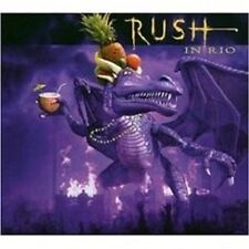 "RUSH ""Live in Rio"" 3 CD Set 31 tracks nuovo"