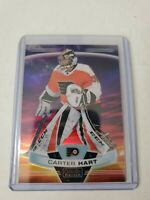 Carter Hart 2019-20 O-pee-chee Platinum SUNSET Parallel  Philadelphia Flyers