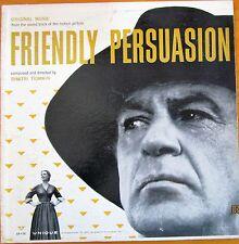 "FRIENDLY PERSUASION soundtrack ""Dimitri Tiomkin"" 1956 LP vinyl RKO 110"