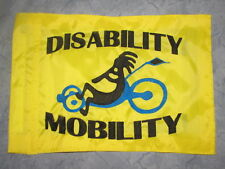Custom Kokopelli Trike Safety Flag for recumbent trike bike  Whip Pole