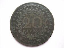Portugal Azores 1795 20 Reis