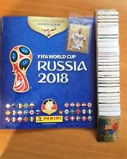 Panini WM 2018 Russia alle 682 Sticker Komplett +Leeralbum+9 MC Donalds Sticker