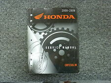2008 2009 Honda CRF230L CRF230M Motorcycle Dirt Bike Shop Service Repair Manual