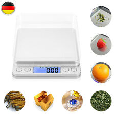 Silber Küchenwaage Briefwaage 3kg/0.1g Waage Digital LCD Haushaltswaage Feinwage