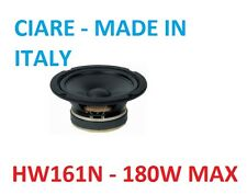 Woofer 160mm 6.5'' 8ohm 180w Ciare Hw161N CIARE MADE IN ITALY