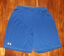 UNDER ARMOUR Loose Heat Gear Athletic Shorts Blue NEW MENS Size L Large
