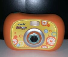 VTech Kidizoom Sport Camera 1069 Orange/Yellow Great Gift With New Batteries