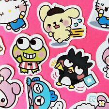 38 Cute Sanrio Stickers, Journal Stickers, Kawaii Stickers, Scrapbooking